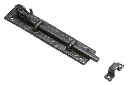 Kirkpatrick 830 Black Antique Style Door Bolt Kirkpatrick traditional black antique style door bolt for fitting to a door and frame that are flush. Bolt plate measures 95x30mm and bolt length measures 101mm. Fixings are included. Kirkpatrick have http://www.MightGet.com/january-2017-12/kirkpatrick-830-black-antique-style-door-bolt.asp