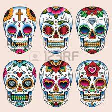 Resultado de imagen para tatuajes de craneos mexicanos hombres                                                                                                                                                                                 Más