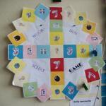 Woordenschattriviant: dobbelsteen gooien, richting kiezen en consolideren maar! Groep 5-6 De Rank in Toldijk.