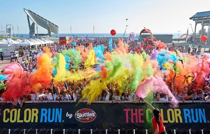 Holi Powder Cannons - add huge splashes of color to your event. 100% safe - read our FAQ for more information on incorporating these into you next special event!