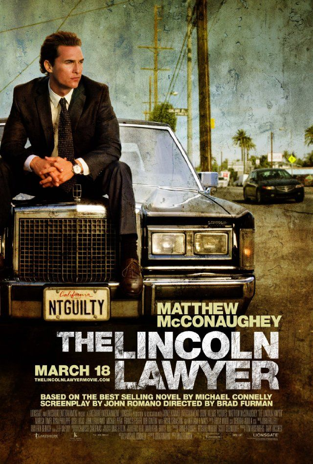 The Lincoln Lawyer - Mick Haller is a defense lawyer who works out of his Lincoln. When a wealthy Realtor is accused of raping a prostitute, Haller is asked to defend him. The man claims that the woman is trying to get some money out of him. But when Haller looks at the evidence against him, he learns that this case might be linked to an old case of his.