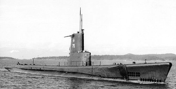 This Canadian sub was purchased from the USN in 1968 and renamed HMCS RAINBOW. The former USS ARGONAUT, a TENCH class boat, had undergone the Fleet Snorkel conversion prior to serving with the RCN. DND photo.