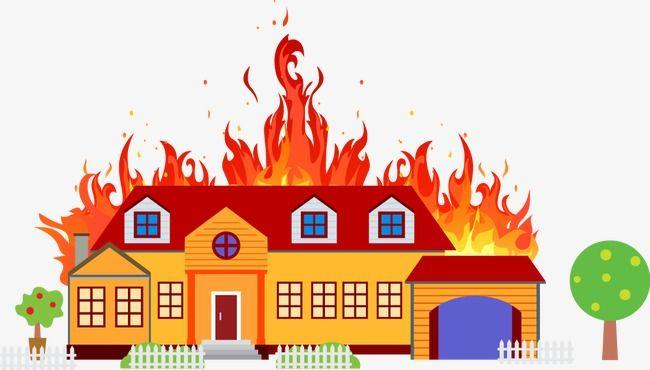 Incendio De La Casa De Seguridad Contra Incendios La Extincion De