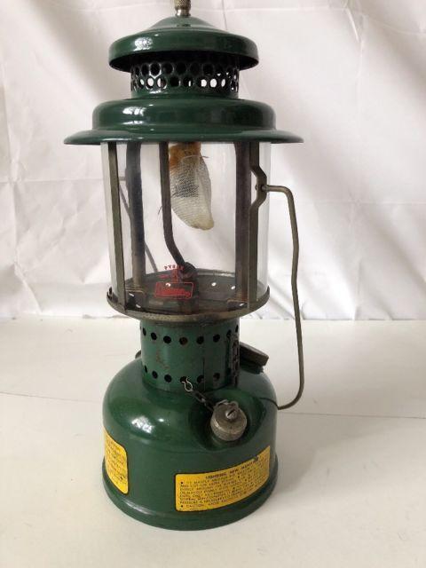 Hard To Find Vintage Coleman Single Mantle Lantern Us Army