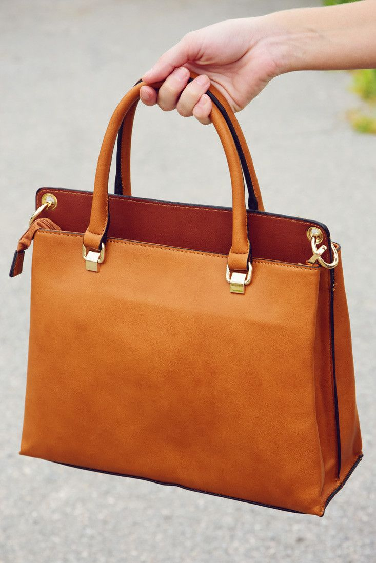 Forever Free Purse: Cognac #shophopes