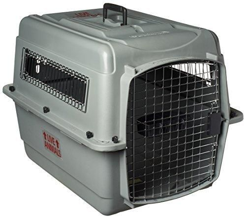 Petmate Sky Kennel for Pets from 25 to 30-Pound Light Gray