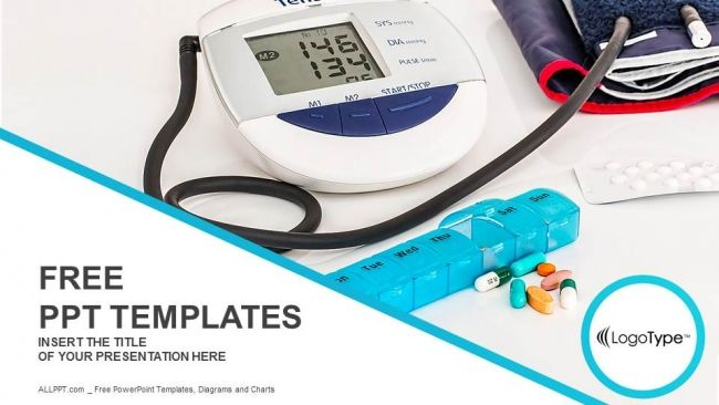 Blood Pressure Powerpoint Template Free Medical Powerpoint Templates