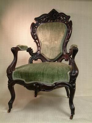 Empire Secretary Bookcase attr. to Joseph Meeks, NY   Cottone Auctions