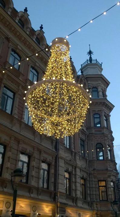 Helsinki, Christmas lights. Tiina Mäenpää-Bussetta