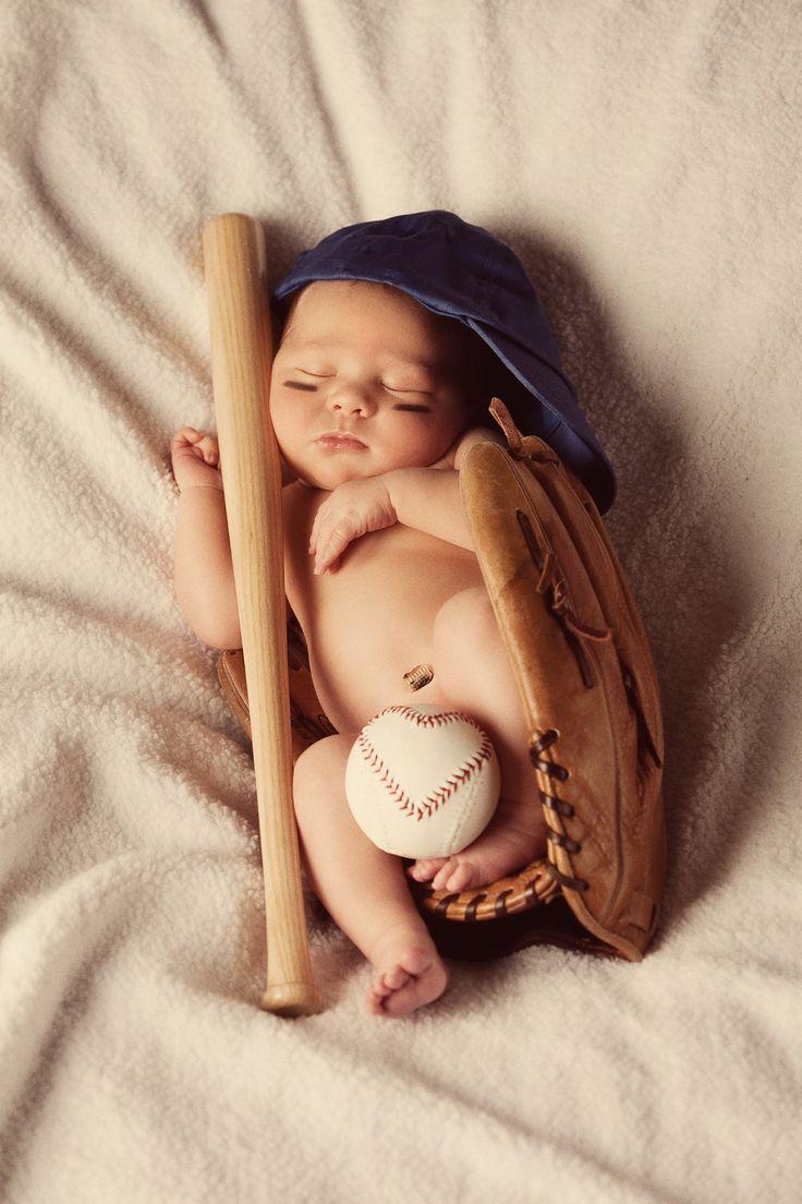 Newborn baseball baby :-)