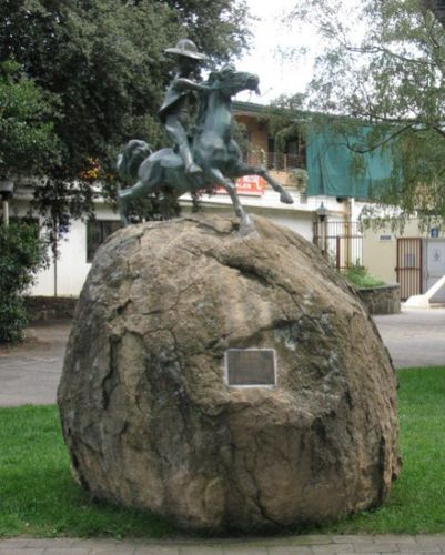 """Banjo Paterson : 25-January-2011: """"The Man From Snowy River"""", Cooma. NSW."""