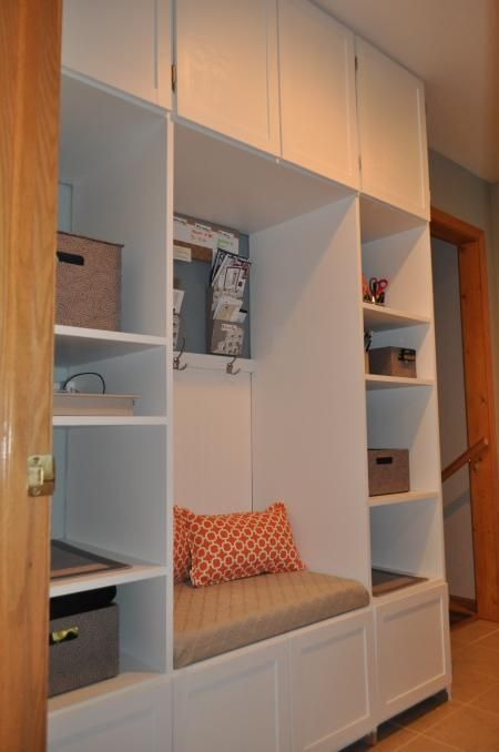 Mudroom Storage Do It Yourself : Top ideas about organize it on pinterest family