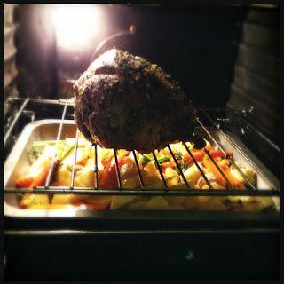 Overheerlijke lamsbout uit de oven met groenten | Francesca Kookt!