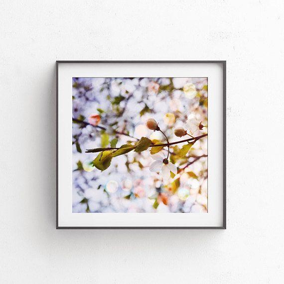 Blue printable art 12x12  10x10  8x8  4x4 print Home decor