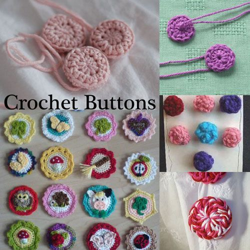 Moogly Blog has done it again with a set of five different how-to's on crocheting your own buttons. Click here to get the full list of all five tutorials and patterns for these fun and amazing lit...