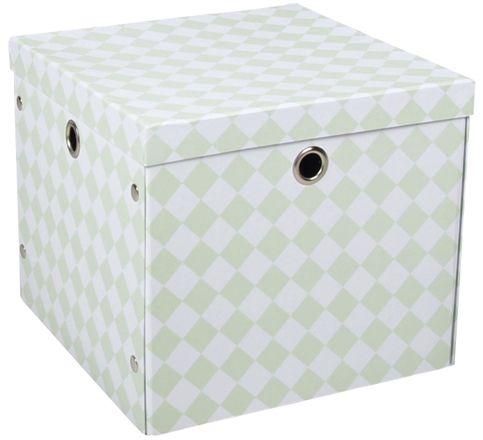 Alice & Fox Förvaringsbox Papp Grön