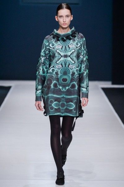 Valentin Yudashkin-nedelya-mody-v-moskve-fw-2016-2017-09  fashion style runway fashion week, модные тренды 2016-2017 цвета драгоценных камней изумруд