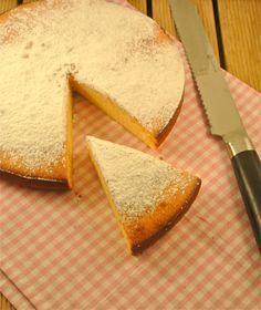 heerlijke cake met gecondenseerde melk