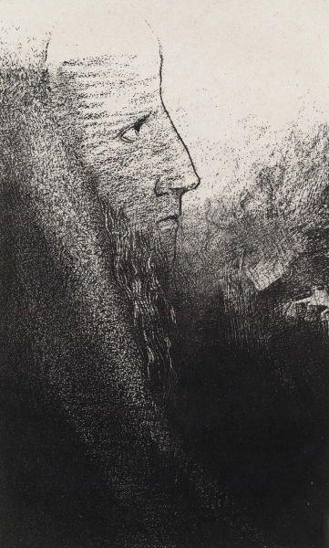 Redon, Heiliger Antonius, 1896