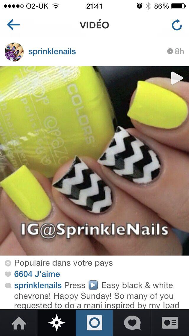 Black (white) and yellow