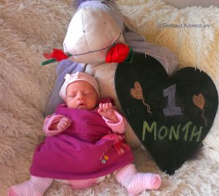 Not due yet - but one month old! #preemie #babyupdate #babydevelopment #onemonthold