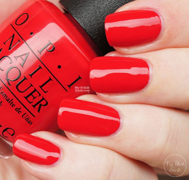 25 Best Ideas About Red Nail Polish On Pinterest Fall