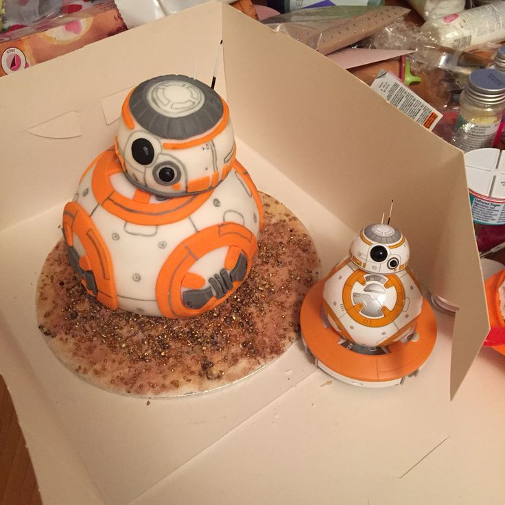 star wars cake bb 8 droid cake and his sphero pal cake passion pinterest war stars and cakes. Black Bedroom Furniture Sets. Home Design Ideas