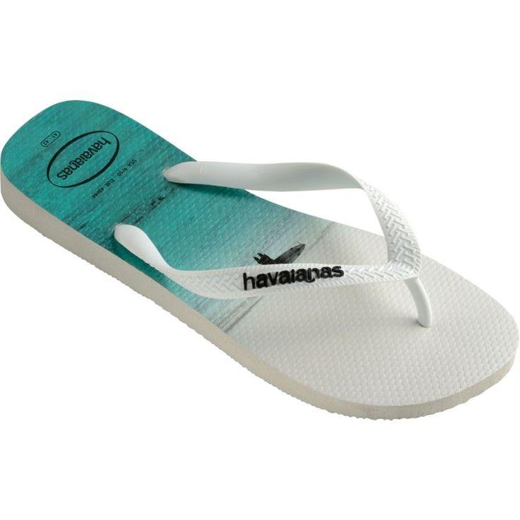 Havaianas Men's Hype Flip Flops, White
