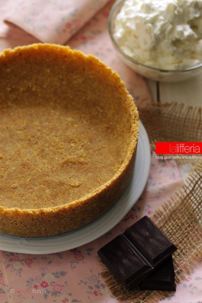 Crostata senza cottura, base per torte universale