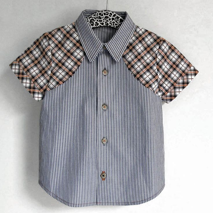 The Weller – shirt   Madeit Patterns Pattern includes long sleeve version / Sizes 12M to 12Y / £5.50