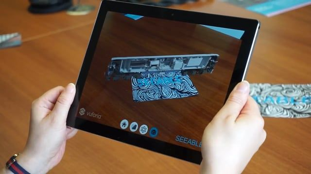Using high accuracy 3D reality capture to create 'Digital Twins' and share the models with Augmented Reality.  Marketing & Sales teams can brand our Apps and create interactive 3D sale catalogues.  The User Interface can be customised by our development team and bespoke interactions, text or icons added.