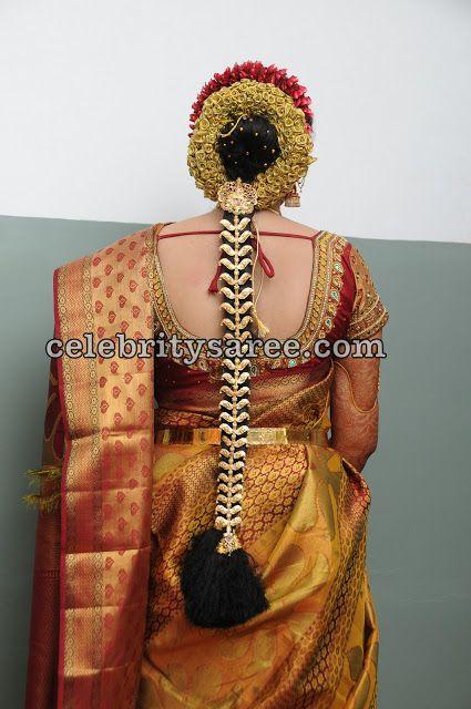 81 best indian bridal hairstyle images on pinterest for Sari furniture designer