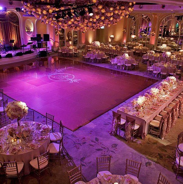 Gold Wedding Reception