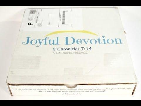 31 best joyful devotion subscription images on pinterest joyful joyful devotion may 2016 unboxing coupon fandeluxe Choice Image