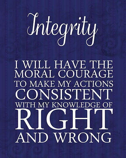 moral courage and integrity of nurses Nurses need moral courage in all areas and at all levels of nursing  attributes  of moral courage were identified: true presence, moral integrity,.