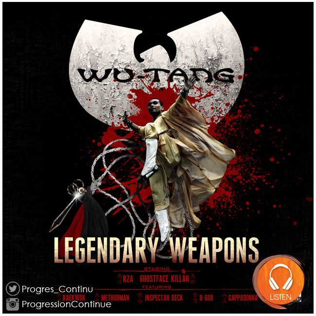Wu-Tang - Legendary Weapons (2011) // This is a solid album by the Wu Tang (not Clan). In the same formula as the last Wu Tang album, Chamber Music, this album includes all Wu members minus GZA and Masta Killa. #wu #tang #legendary #weapons #album #hiphop