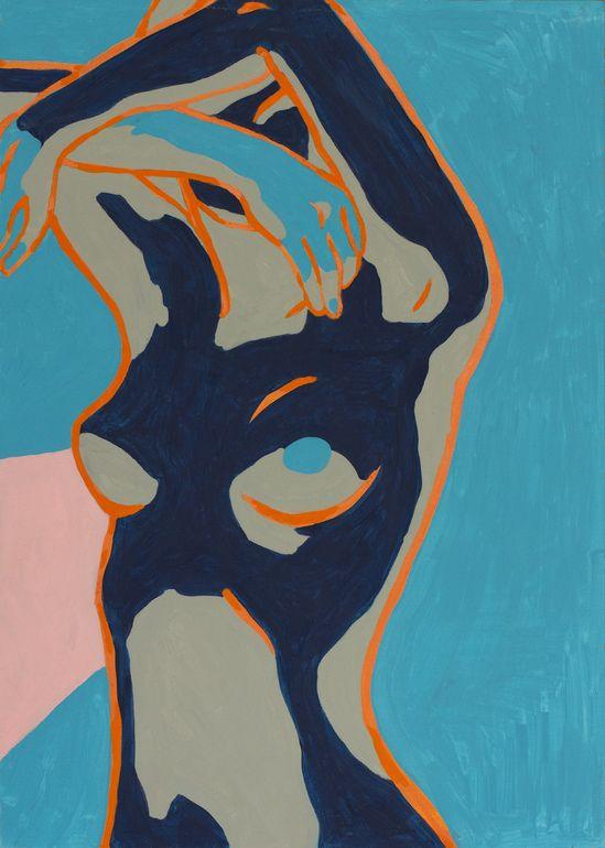 "Saatchi Online Artist: Lena Yastreb; Acrylic 2012 Painting ""Inevitability"""