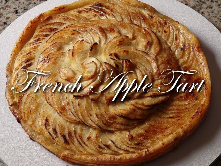 French Apple Tart Recipe - Bruno Albouze - THE REAL DEAL (+playlist)