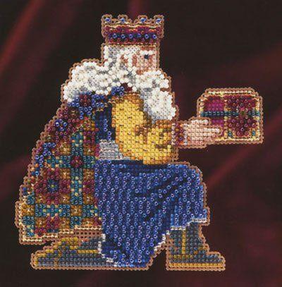 Gaspar Cross Stitch Kit | sewandso