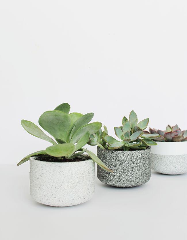 diy mini granite pots   almost makes perfect
