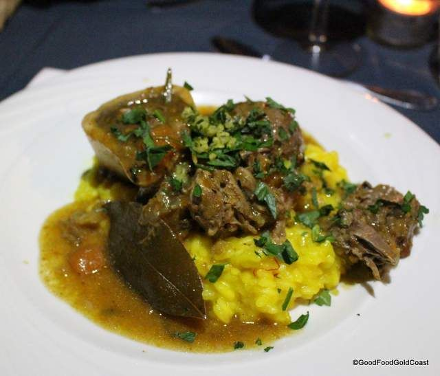 Osso Bucco at Goldtoast Supper Club | Good Food Gold Coast
