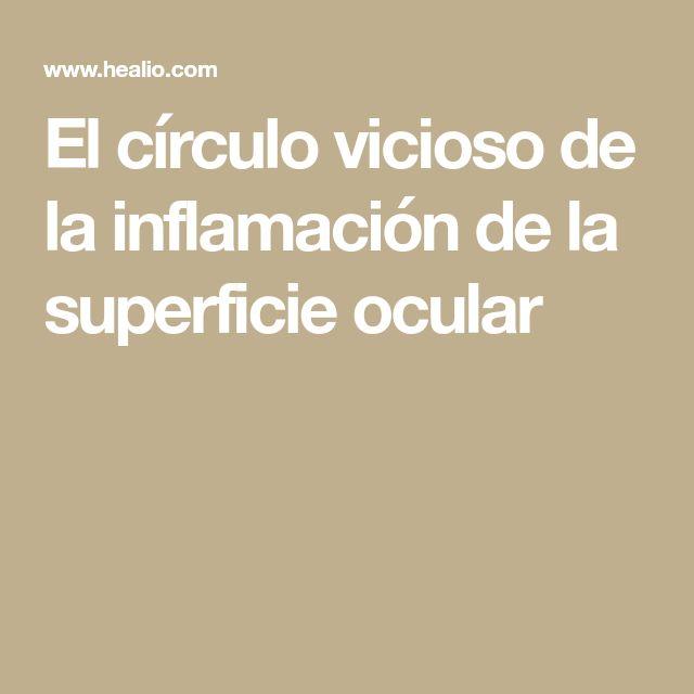 El círculo vicioso de la inflamación de la superficie ocular