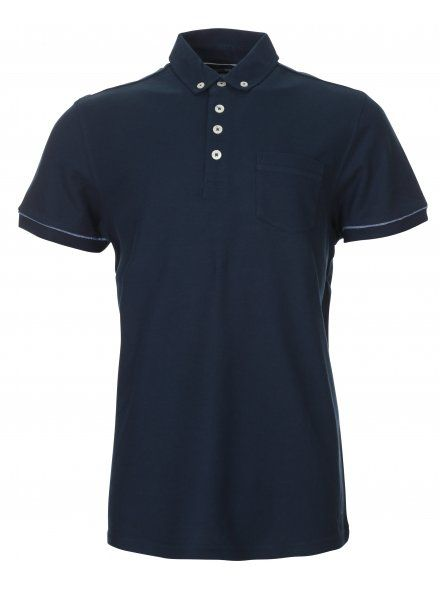 Dark Navy Smart Polo Shirt