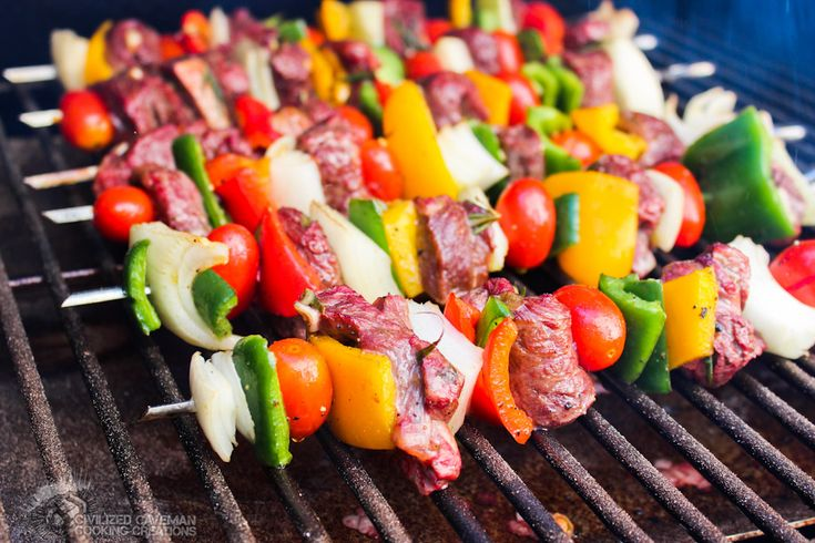 Don't really need a recipe for kabobs, but I'm pinning as a reminder to make these!
