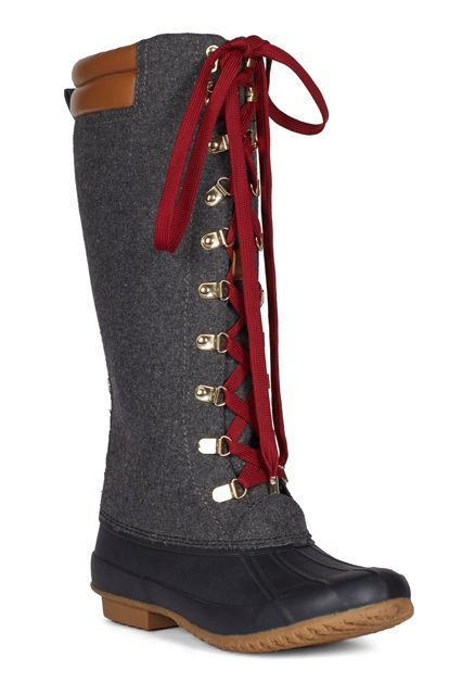 14 Winter Boots That Are Cute & Practical #refinery29 http://www.refinery29.com/best-winter-boots#slide-2 Solider on and embrace the elements with a shield of rubber and felt.Joie Demelza Boots, $395 $237, available at Joie....