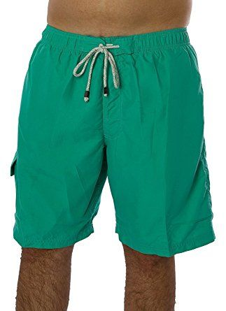 1715fb6147 Exist Men's Solid Color Swimwear 100% Polyester Quick Dry Board Shorts  Bathing Suit Surf Beach Swim Trunks Review