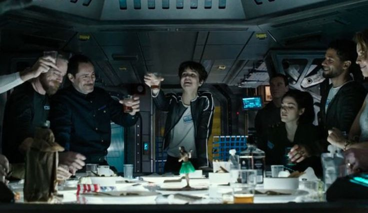A new clip from #AlienCovenant gives an inside look at the mismatched crew, as the film seeks to bridge the gap between #Alien and #Prometheus. #SciFi #Horror