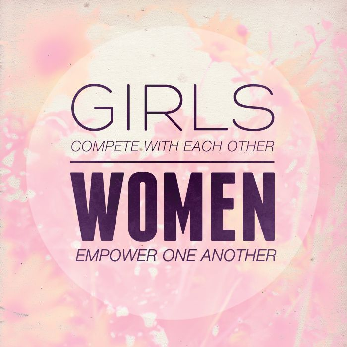Yes! Women should empower one another.