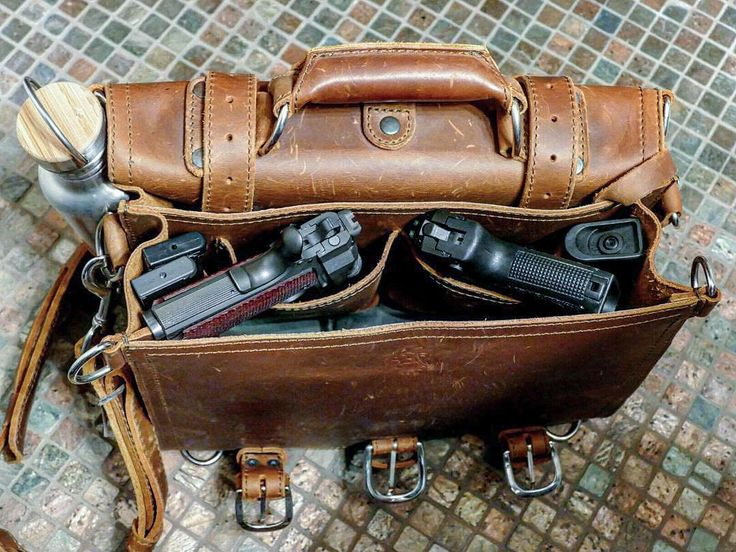 Now offering range bags! They look an awful lot like the Classic Briefcase…