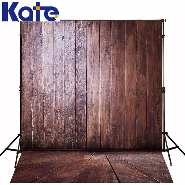 Photography Backdrops Old Wooden Interior Bright Wood Brick Wall Backgrounds for Photo Studio NTZC-130